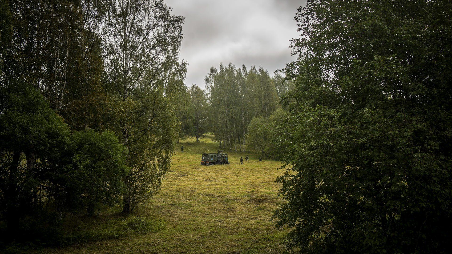 Photo: Bezav Mahmod/Swedish Armed Forces