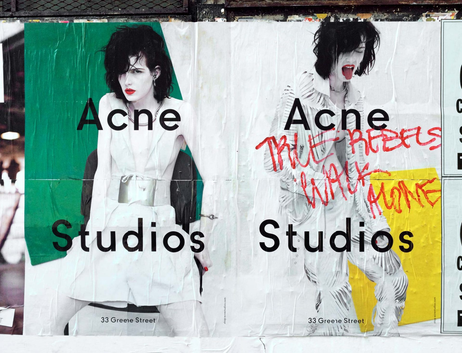 Acne Studios as seen in New York