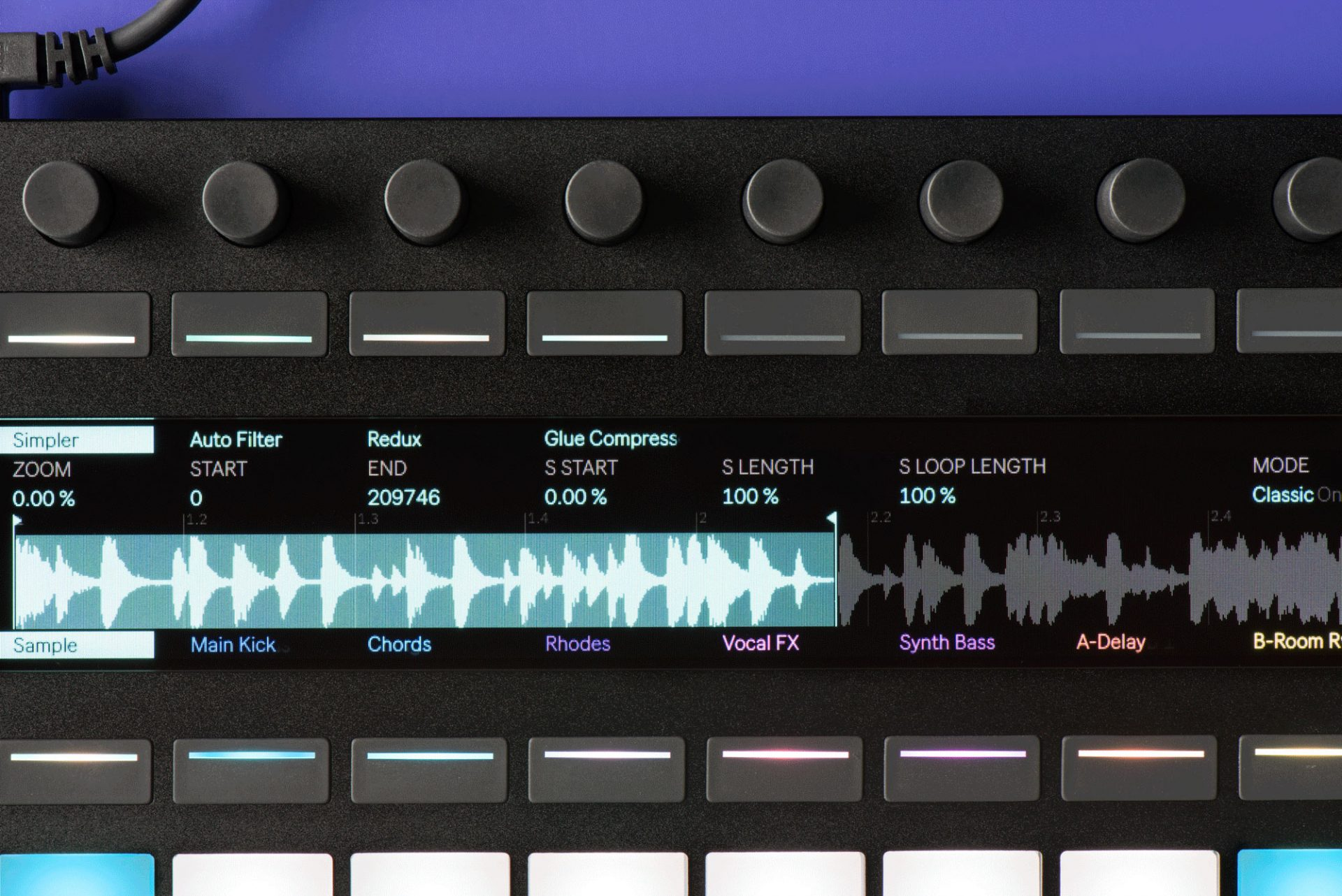 This typeface was developed solely for use in Ableton's physical and digital interfaces.