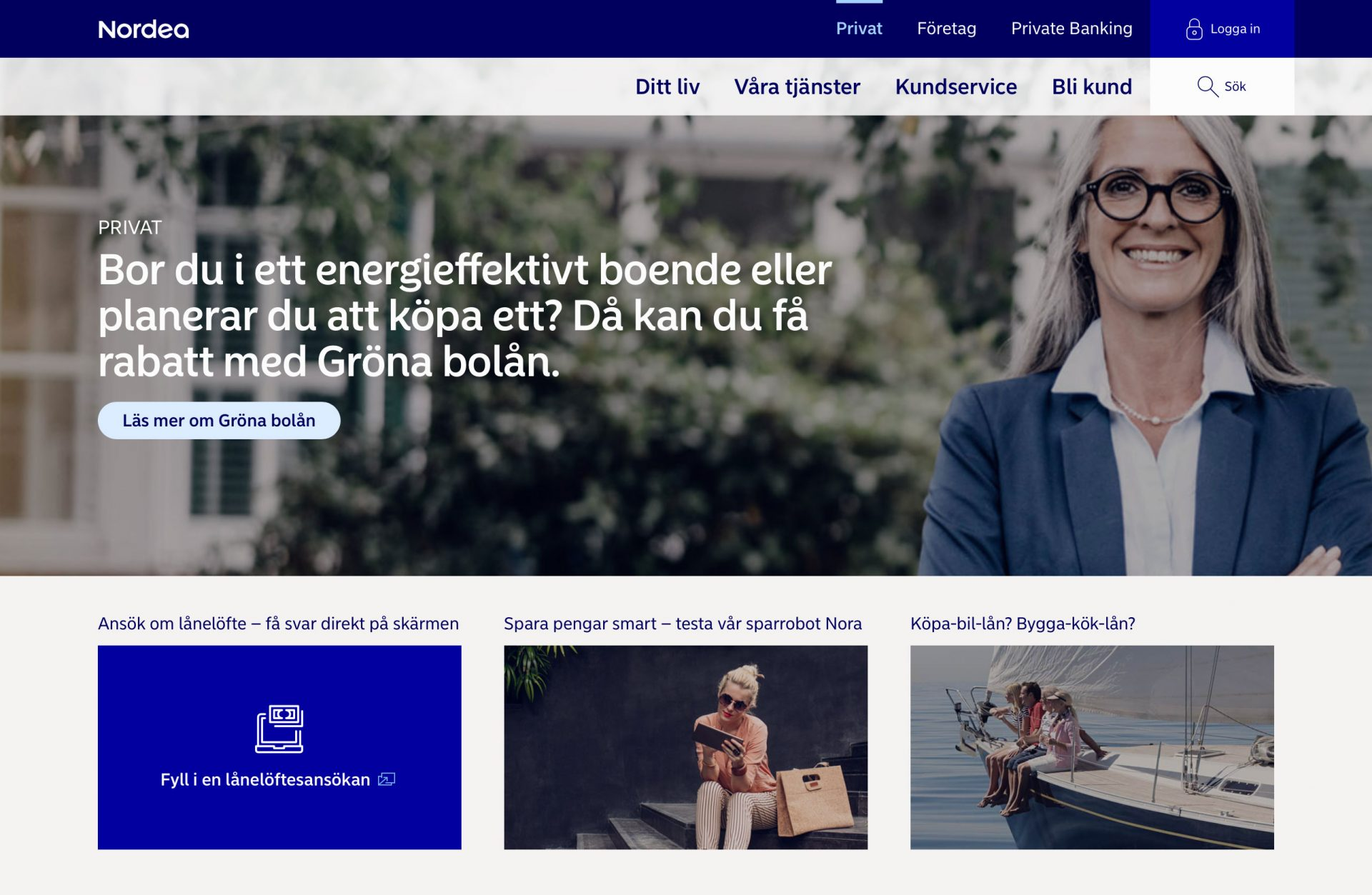 Nordea Website